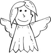 Aniołek prosty