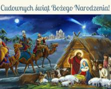 Cudownych świąt kartka