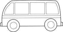 Autobus szablon