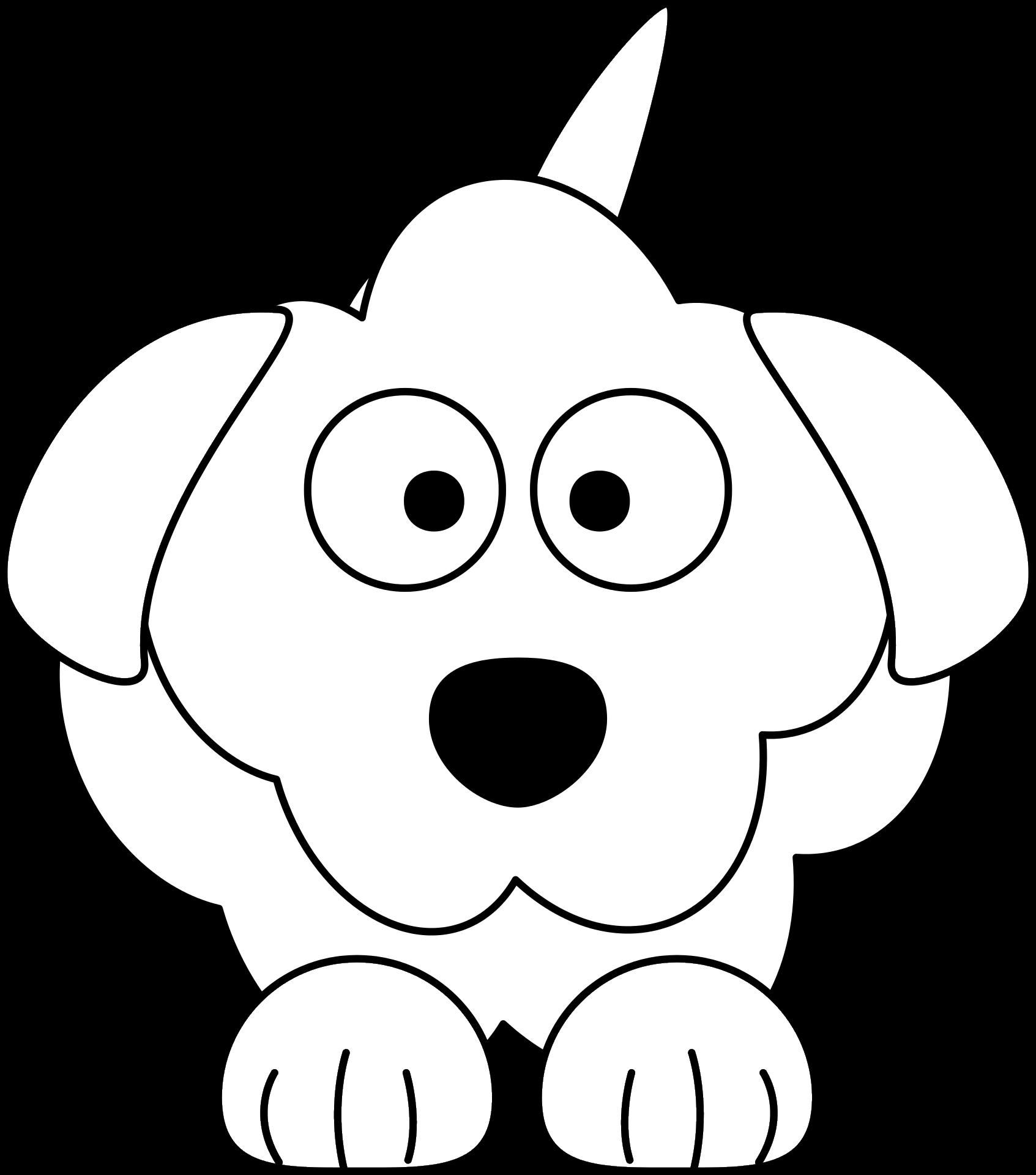 Kreskowkowy Pies Kolorowanka Do Druku