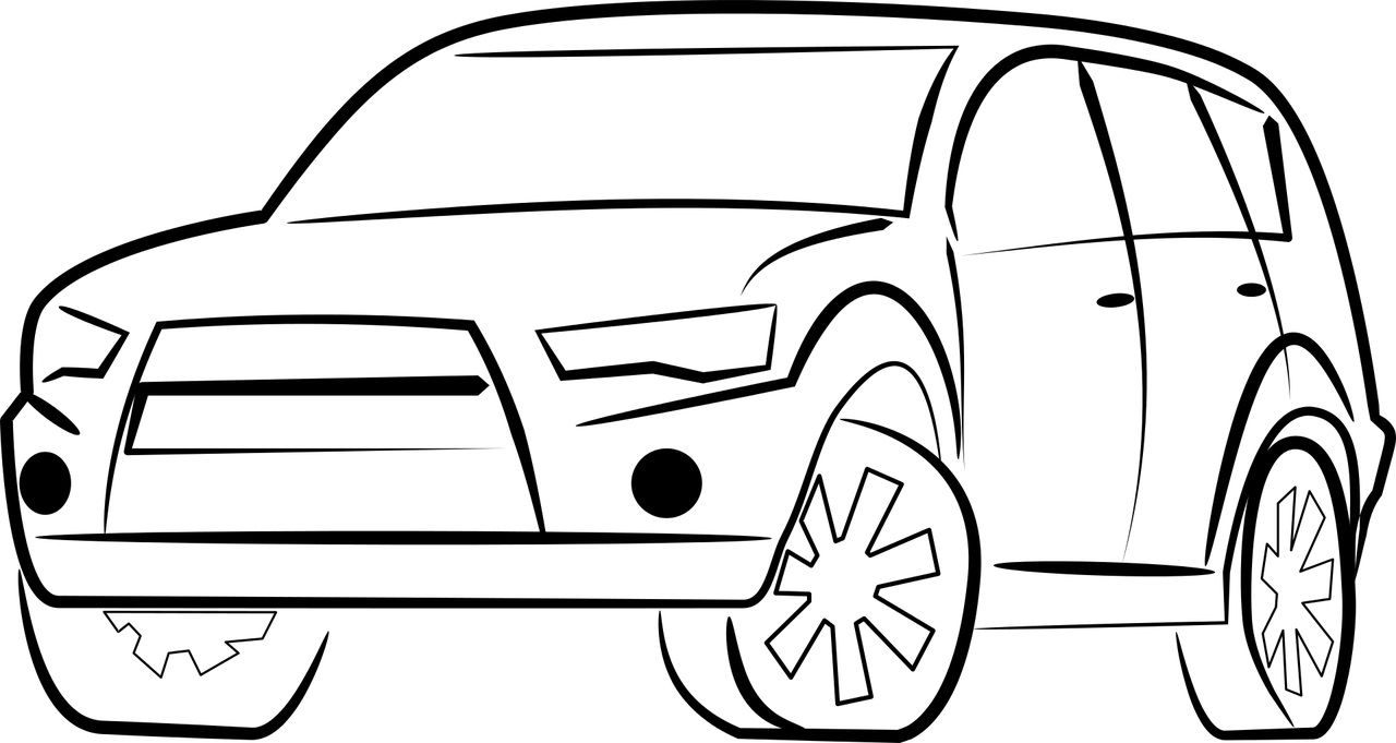 Jeep Kolorowanka Do Druku