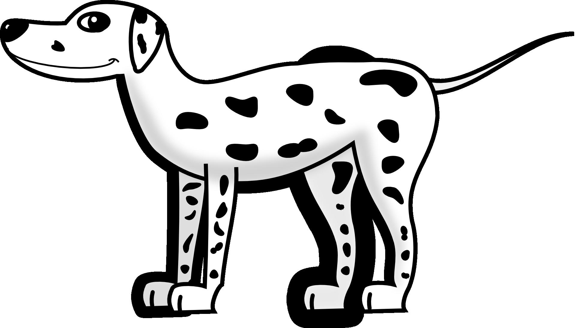 Dalmatynczyk Kolorowanka Do Druku