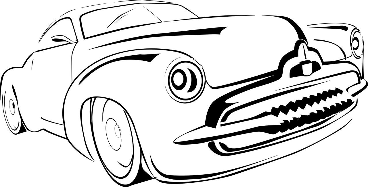 Auto Maska Kolorowanka Do Druku