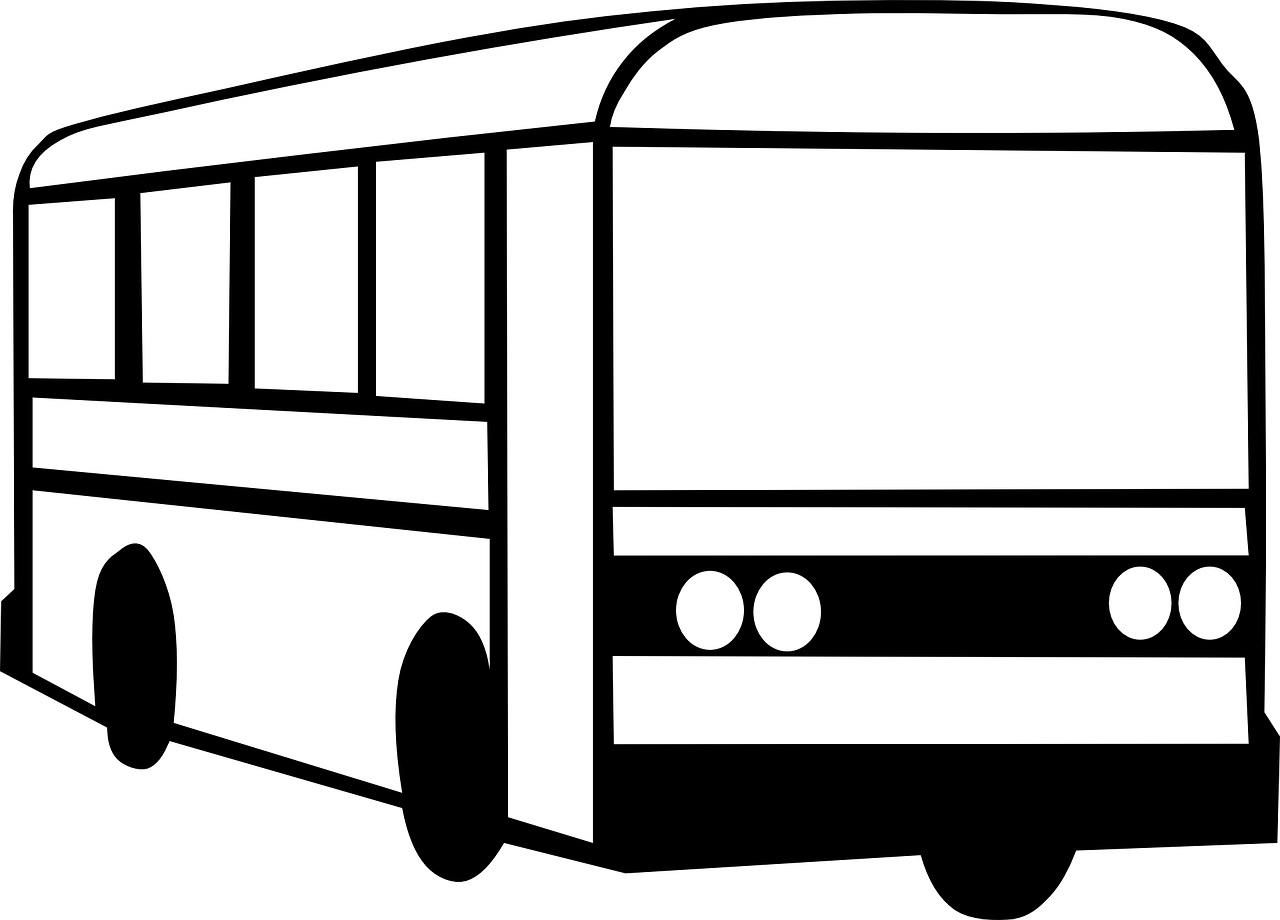 Autobus Przod Kolorowanka Do Druku